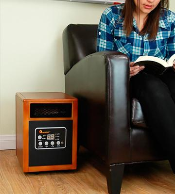 Review of Dr Infrared Heater DR968 Portable Infrared Heater