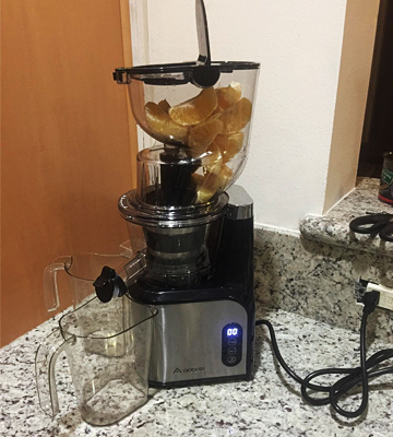 Review of Aobosi AMR8825 Wide Chute Anti-Oxidation Cold Pressed Juicer Extractor