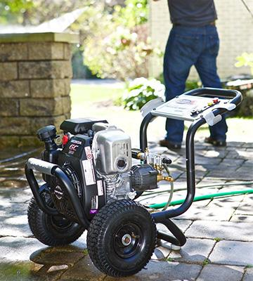 Review of Simpson MSH3125-S Technologies Axial GPM Gas Pressure Washer