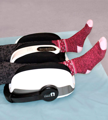 Review of CloudMassage Shiatsu Massager For Tired Feet , Legs, Calf