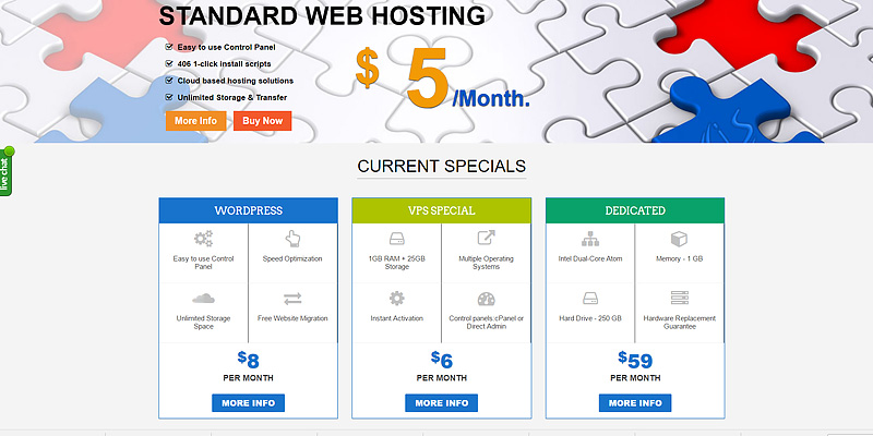 Review of interserver.net Web Hosting