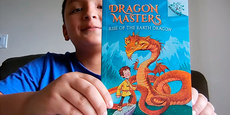 Review of Tracey West Dragon Masters part 1 Rise of the Earth Dragon