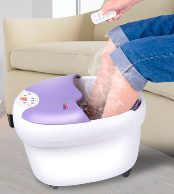 Review of Kendal FBD1023 All in one foot spa bath massager