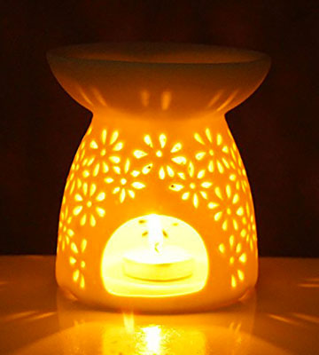 Review of Ivenf Aromatherapy Essential Oil Burner
