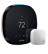 ecobee 4 Smart Thermostat with Built-In Alexa