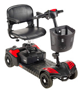 Drive Medical Compact Travel 4 Wheel