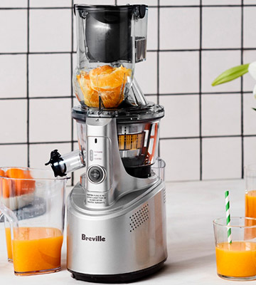 Review of Breville BJS700SIL Big Squeeze Slow Juicer