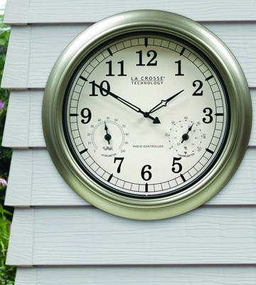 Review of La Crosse WT-3181PL Atomic Outdoor Clock with Temperature & Humidity