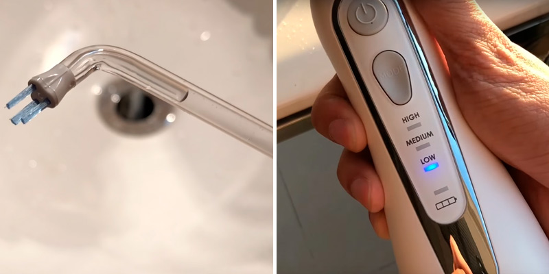 Review of Waterpik Cordless Advanced (WP-560) Cordless Advanced Water Flosser