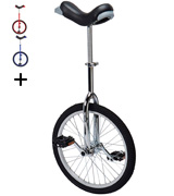 Fun Chrome 20 Unicycle with Alloy Rim
