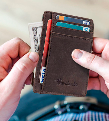 Review of Travelambo Minimalist Wallet