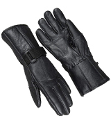 Raider BCS-2660-L Leather Motorcycle Riding Gloves