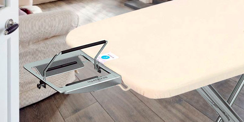 Brabantia _Ironing Board Steam Rest Ironing Board in the use