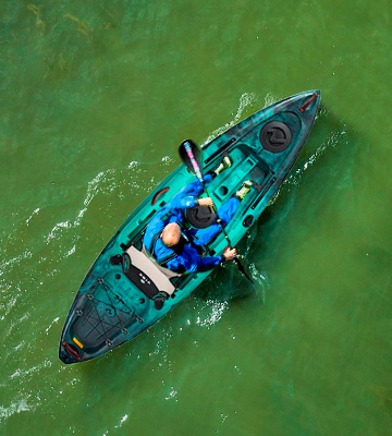 Review of Vibe Kayaks Yellowfin 100 Sit-On-Top Kayak