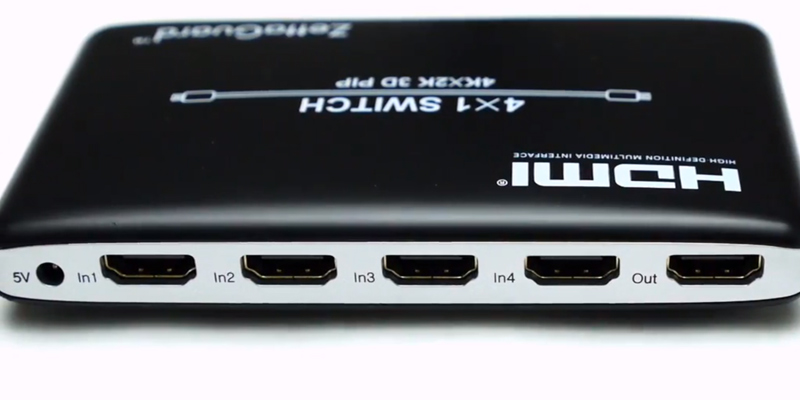Review of Zettaguard 4x1 ZW410 ZW-140 HDMI Splitter