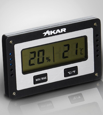 Review of Xikar Rectangular Digital Hygrometer