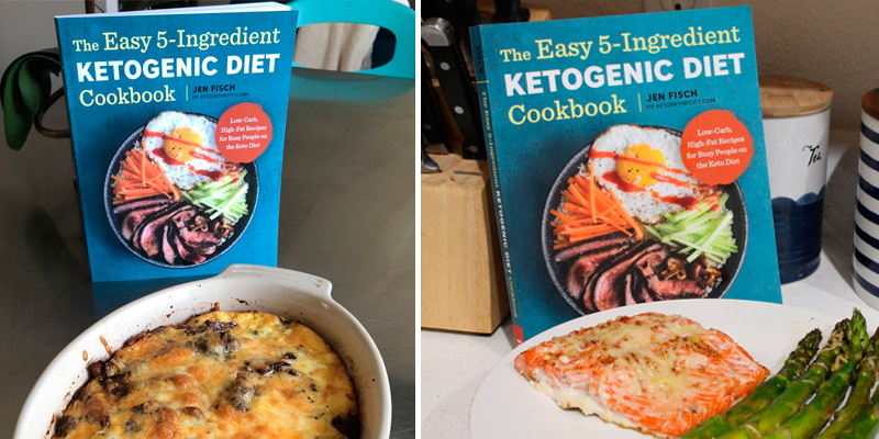 Jen Fisch The Easy 5-Ingredient Ketogenic Diet Cookbook: Low-Carb, High-Fat Recipes for Busy People in the use