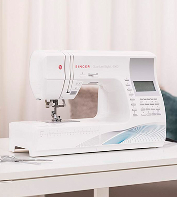 Review of SINGER 9960 Quantum Stylist Computerized Portable Sewing Machine