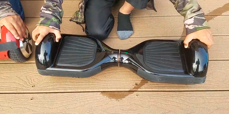 GOTRAX Hoverfly ECO Hoverboard in the use