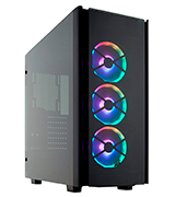 Corsair 500D RGB SE Mid-Tower Case Smoked Tempered Glass
