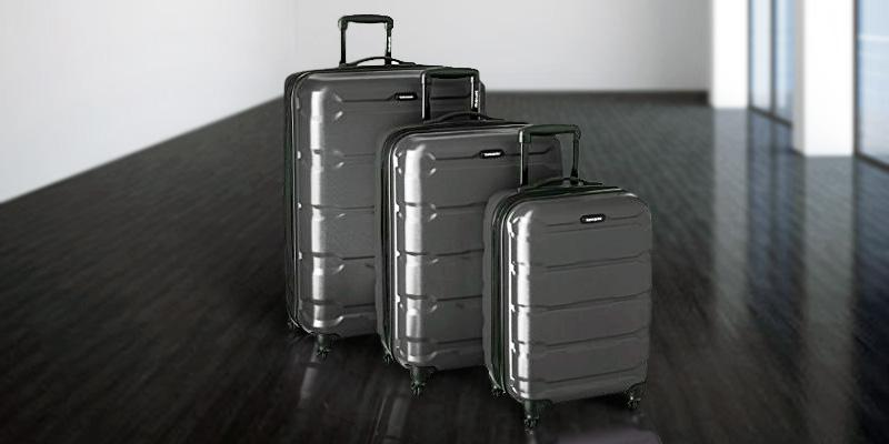 Review of Samsonite PC 3 Piece Set Omni Spinner Suitcase