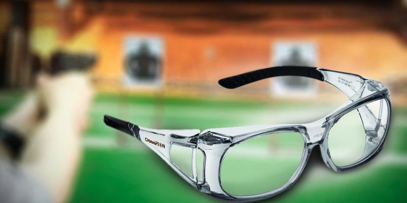 Champion Over-Spec Ballistic Glasses in the use