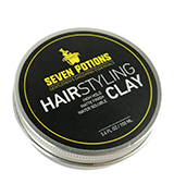 SEVEN POTIONS Matte Finish High Hold Organic Hair Styling Clay