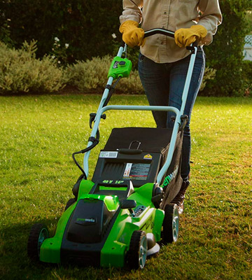 Review of GreenWorks 25322 16-Inch 40V Cordless Lawn Mower