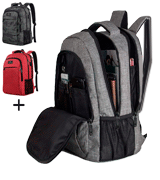 MATEIN 15.6 Inch Anti-Theft Travel Backpack