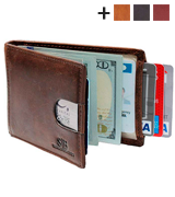 SERMAN BRANDS Minimalist Wallet