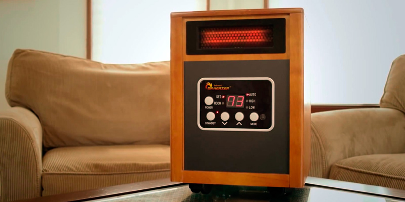 Dr Infrared Heater DR968 Portable Infrared Heater in the use