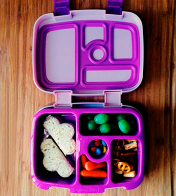 Review of Bentgo Lunch Box Kids Childrens - Bento-Styled Lunch Solution Offers Durable