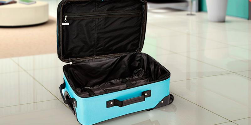 Detailed review of Rockland 2 Piece Luggage Set