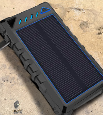 Review of HOBEST H186 10000mAh Solar Charger