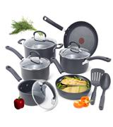 T-fal 12-Piece Hard Anodized Cookware Set
