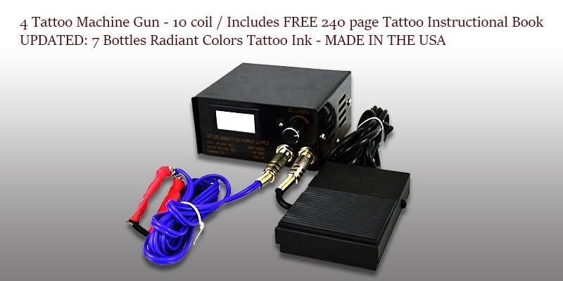 Pirate Face Tattoo Complete Tattoo Kit Made in the USA in the use