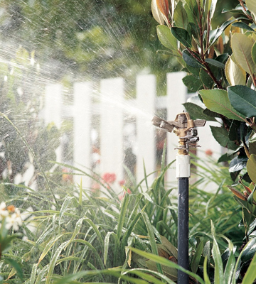 Review of Rain Bird 25PJDAC Brass Impact Sprinkler