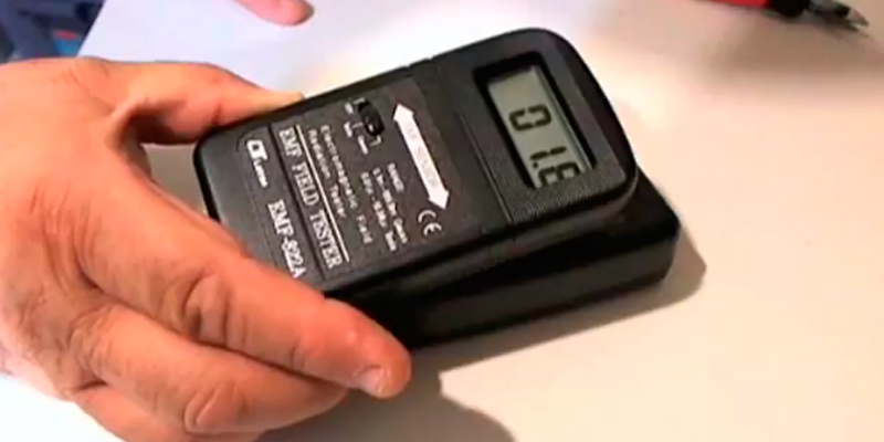 Detailed review of Lutron 822-A Digital EMF Meter