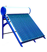 Duda Solar DS-SH58-15T-SUS304 150 Liter Passive Solar Water Heater Attached Pressurized Tank