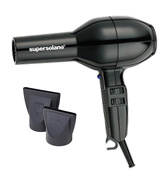 Solano 201232BLK SuperSolano Professional Hair Dryer