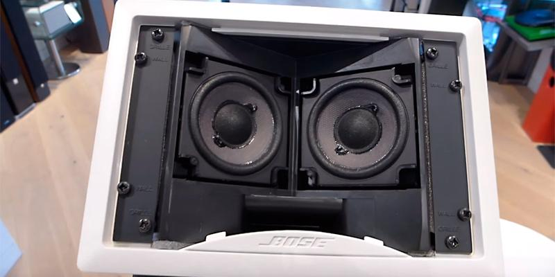 Bose Virtually Invisible 191 speakers in the use