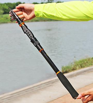 Review of Sougayilang Spinning Telescopic Fishing Rod