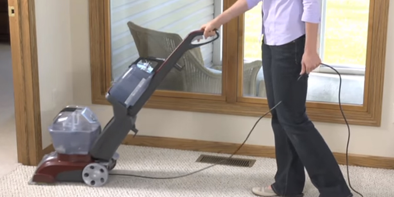Detailed review of Hoover FH50150 Power Scrub Deluxe Carpet Washer