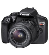 Canon Rebel T6 DSLR Camera Kit with EF-S 18-55mm f/3.5-5.6 IS II Lens
