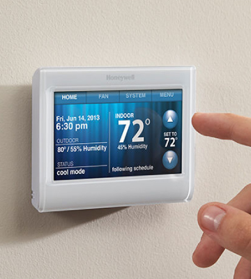 Review of Honeywell. (TH9320WF5003) Wi-Fi Touch Screen Programmable Thermostat