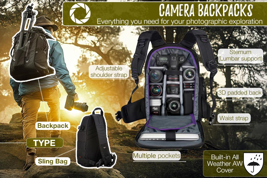 Comparison of Camera Backpacks to Protect Photography Equipment