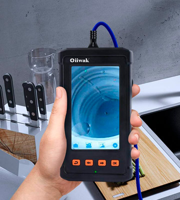 Review of Oiiwak (006USBK) Industrial Endoscope (1080P 4.3-inch Screen, 6 LED Lights, 2800mAh Battery, 11.5ft)