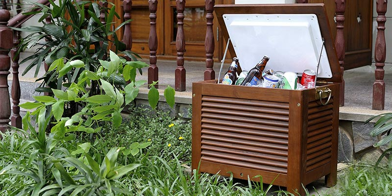 Review of Merry Garden MPG-PC01 Wooden Patio Cooler