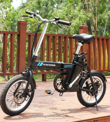 Review of Ancheer Folding Electric Commuter Bike