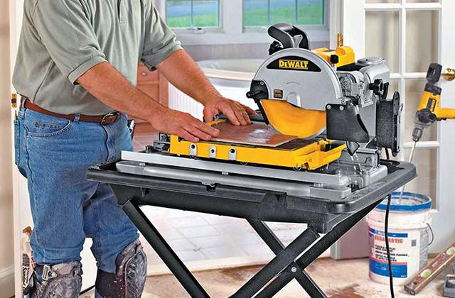 Best Wet Cutting Tile Saws for Professional Tilers and Do-It-Yourselfers